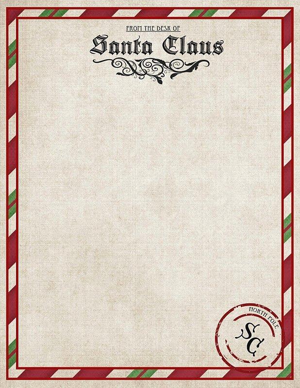 Letter From Santa Template Word Lovely Letter From Santa Word Template Letter Of Re Mendation