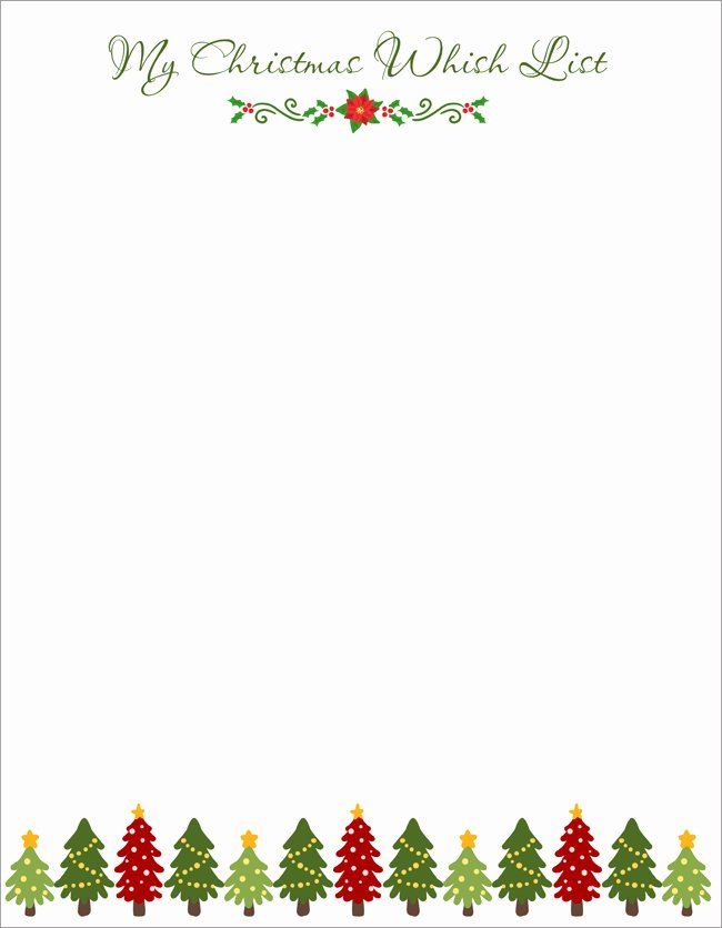 Letter From Santa Template Word Luxury 20 Free Letter to Santa Templates for Kids to Write Wishes