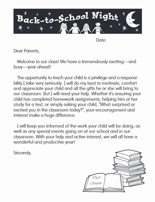 Letters to Parents Template Lovely Index Of Cdn 5 1995 129