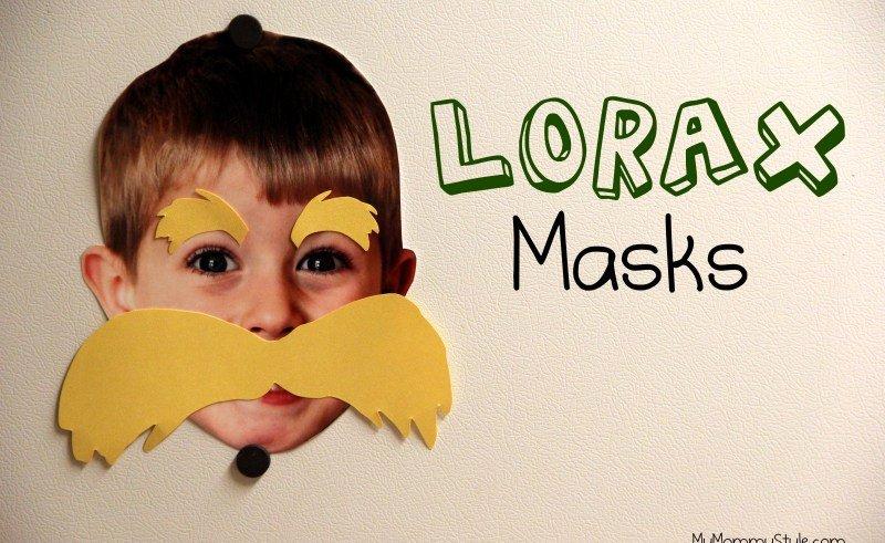 lorax mustache template printable