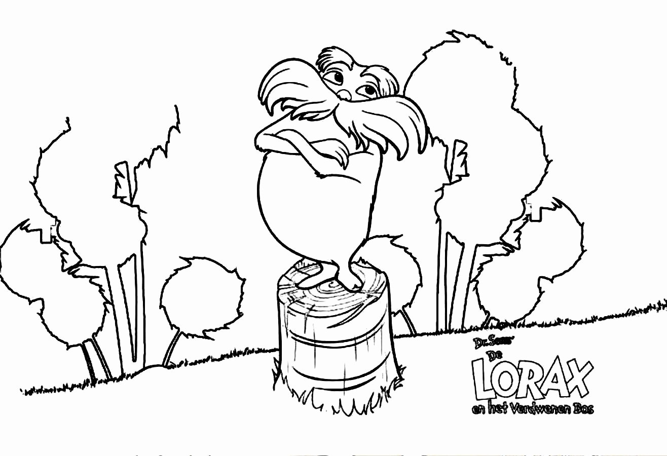 Lorax Eyebrow Template Unique Free Coloring Pages