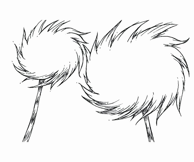 Lorax Mustache and Eyebrows Template Fresh Lorax Printable – Jeannettecliftgeorge
