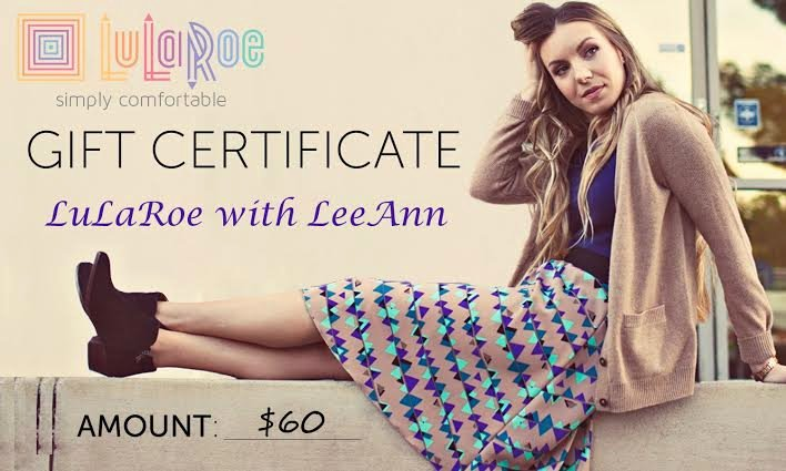 Lularoe Gift Certificate Template Unique Thanks Mail Carrier