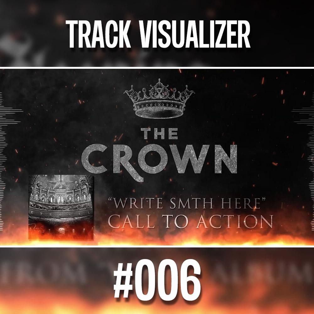 Lyric Video after Effects Beautiful 006 Bandlogo Under Fire – Premium Audio Visualizer