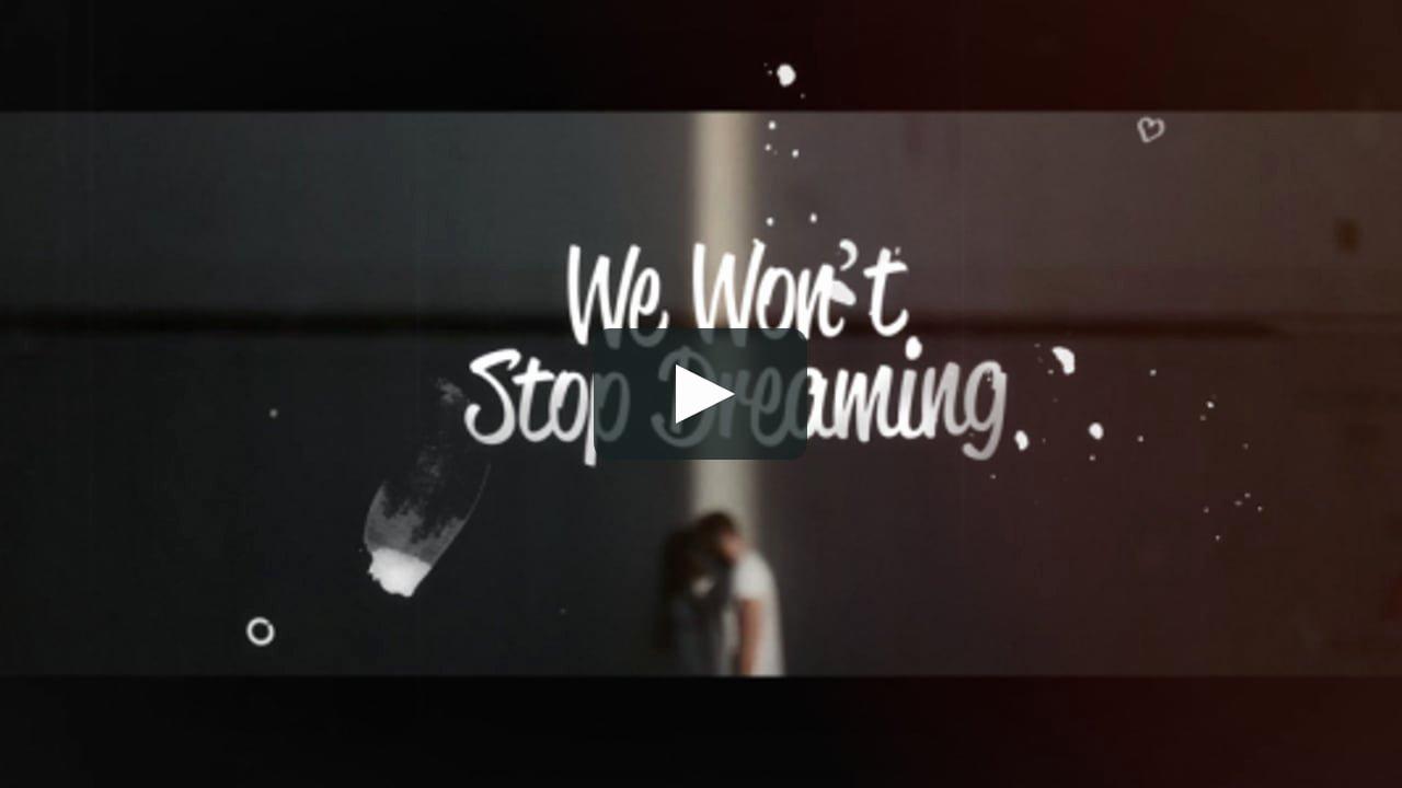 Lyric Video after Effects New Lyrics Template