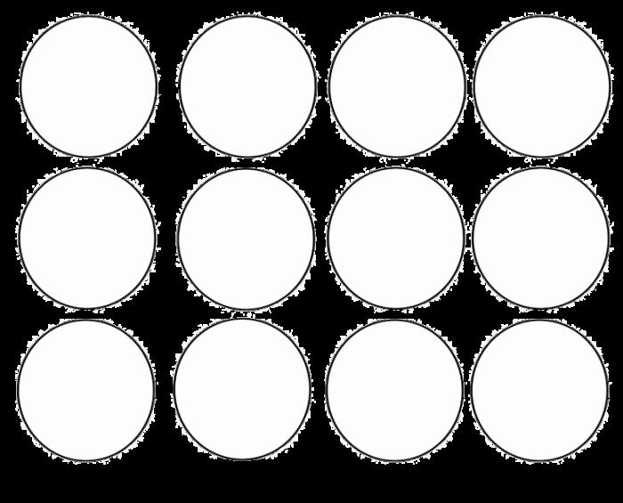 macaron template