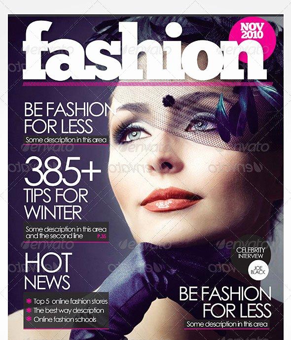 Magazine Cover Templates Psd Beautiful 50 Indesign & Psd Magazine Cover & Layout Templates – Bashooka