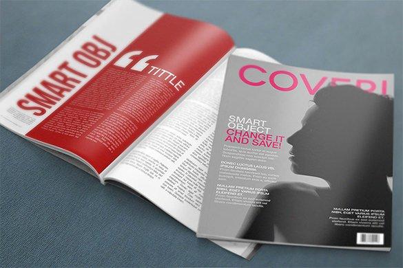Magazine Cover Templates Psd Inspirational 36 Magazine Cover Template Free Sample Example format