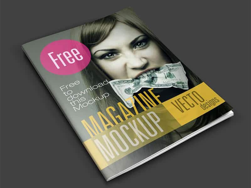 Magazine Cover Templates Psd Inspirational Magazine Psd Mockup Template Download for Free