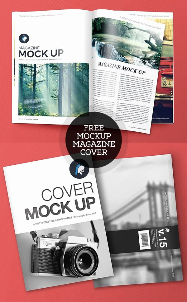 Magazine Cover Templates Psd New Free Psd Magazine and Cover Mockups Freepsdfiles