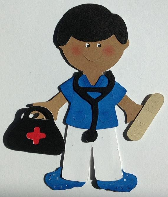 Male Paper Doll Best Of Sale Nurse Boy Paper Doll Plus Accessories Paper Piecing
