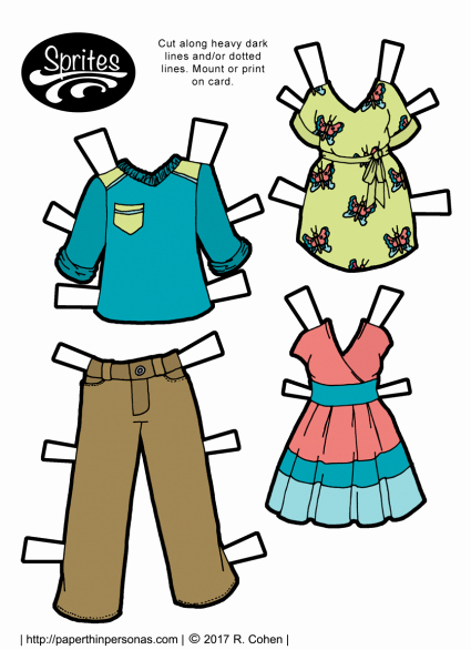 Male Paper Doll Inspirational Male Archives • Paper Thin Personas