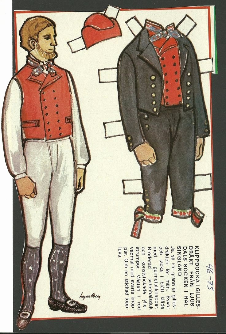 Male Paper Doll Luxury 17 Best Images About Interesting Paper Dolls foreign On