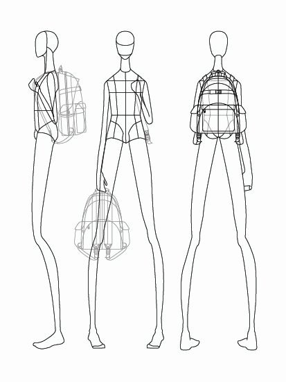 fashion mannequin drawing