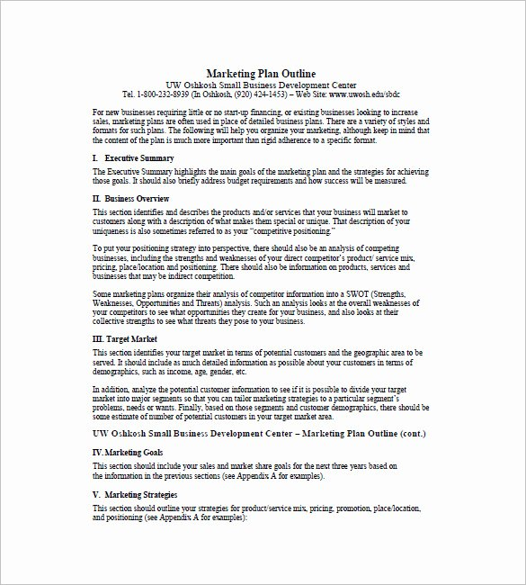 Marketing One Pager Template Awesome E Page Marketing Plan Template – 16 Free Sample