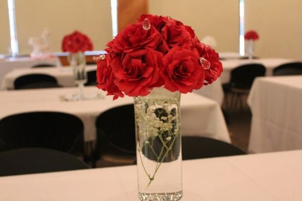 Martha Stewart Coffee Filter Roses Beautiful Centerpieces for My Little Brothers Wedding
