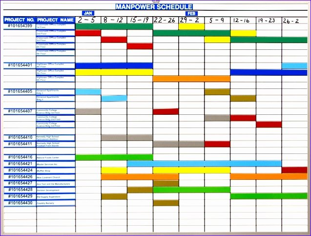 Master Production Schedule Template Excel Lovely 10 Excel Production Schedule Template Exceltemplates