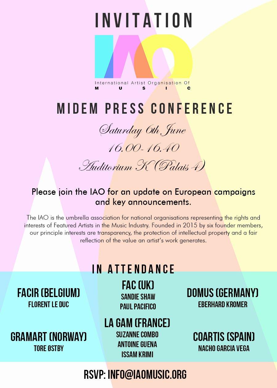 Media Announcement Template Fresh 40 Conference Invitation Wording 52 Meeting Invitation