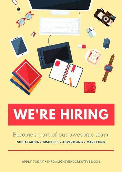 Media Announcement Template Unique Customize 86 Job Vacancy Announcement Templates Online