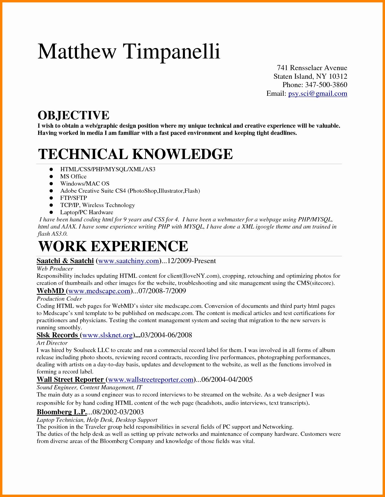 Medical Biller Resume Examples Unique 6 Entry Level Medical Billing Resume