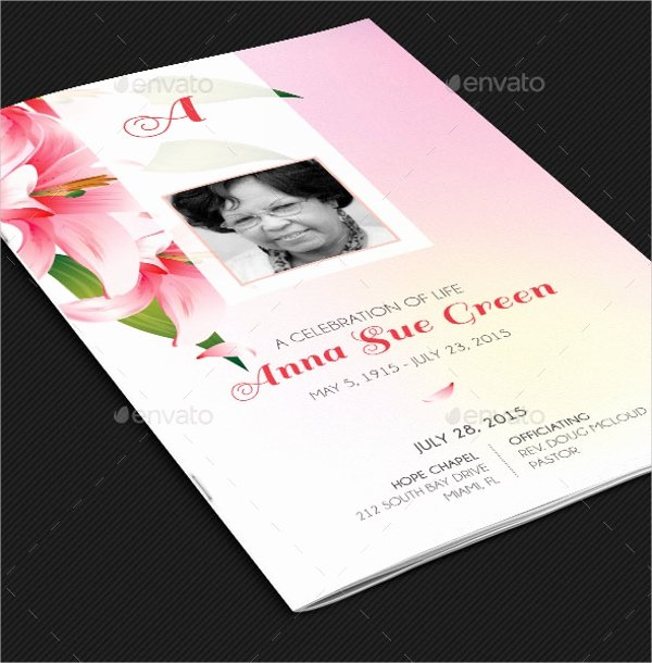 Memorial Card Template Lovely 15 Funeral Card Templates Free Psd Ai Eps format