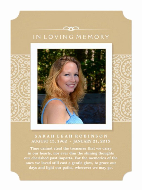 Memorial Service Invitations Templates Awesome Memorial Invitation Cards