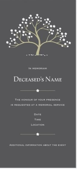 Memorial Service Invitations Templates Fresh Best 25 Memorial Services Ideas On Pinterest