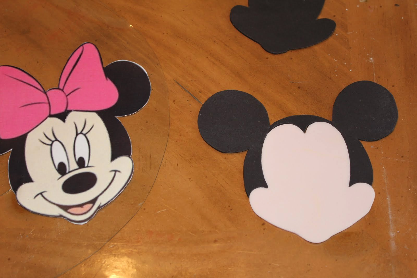 Mickey Mouse Cake Template Free Best Of Minnie Mouse Face Templates