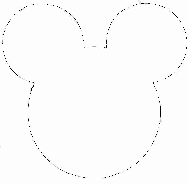 picture regarding Mickey Mouse Head Printable Cutouts named Mickey Mouse Intellect Printable Cutouts Fresh new Minnie Mouse Intellect