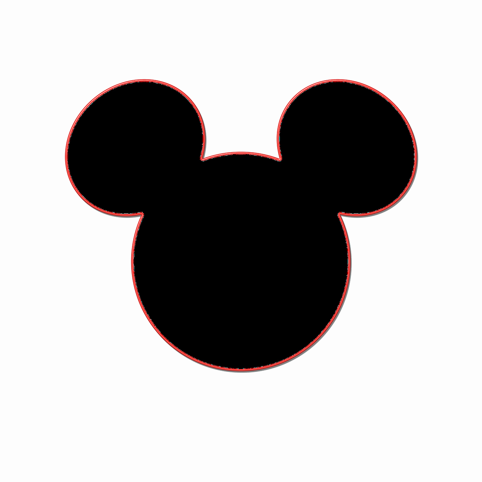 making your own mickey head