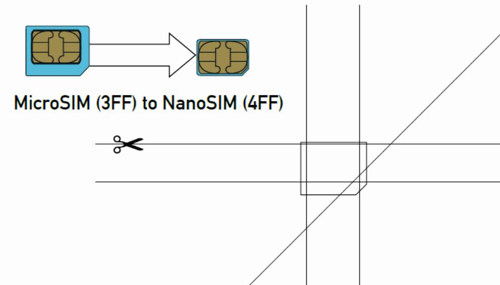 Micro Sim to Nano Sim Template Unique Micro Sim Card to Nano Sim Card 1253 Techotv