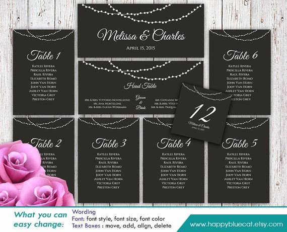 Microsoft Seating Chart Template Best Of 25 Best Seating Chart Template Ideas On Pinterest