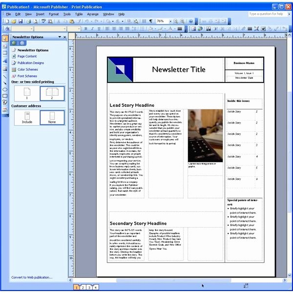 Microsoft Word Magazine Templates Awesome Dynamic Reusable Newsletter Template Defined