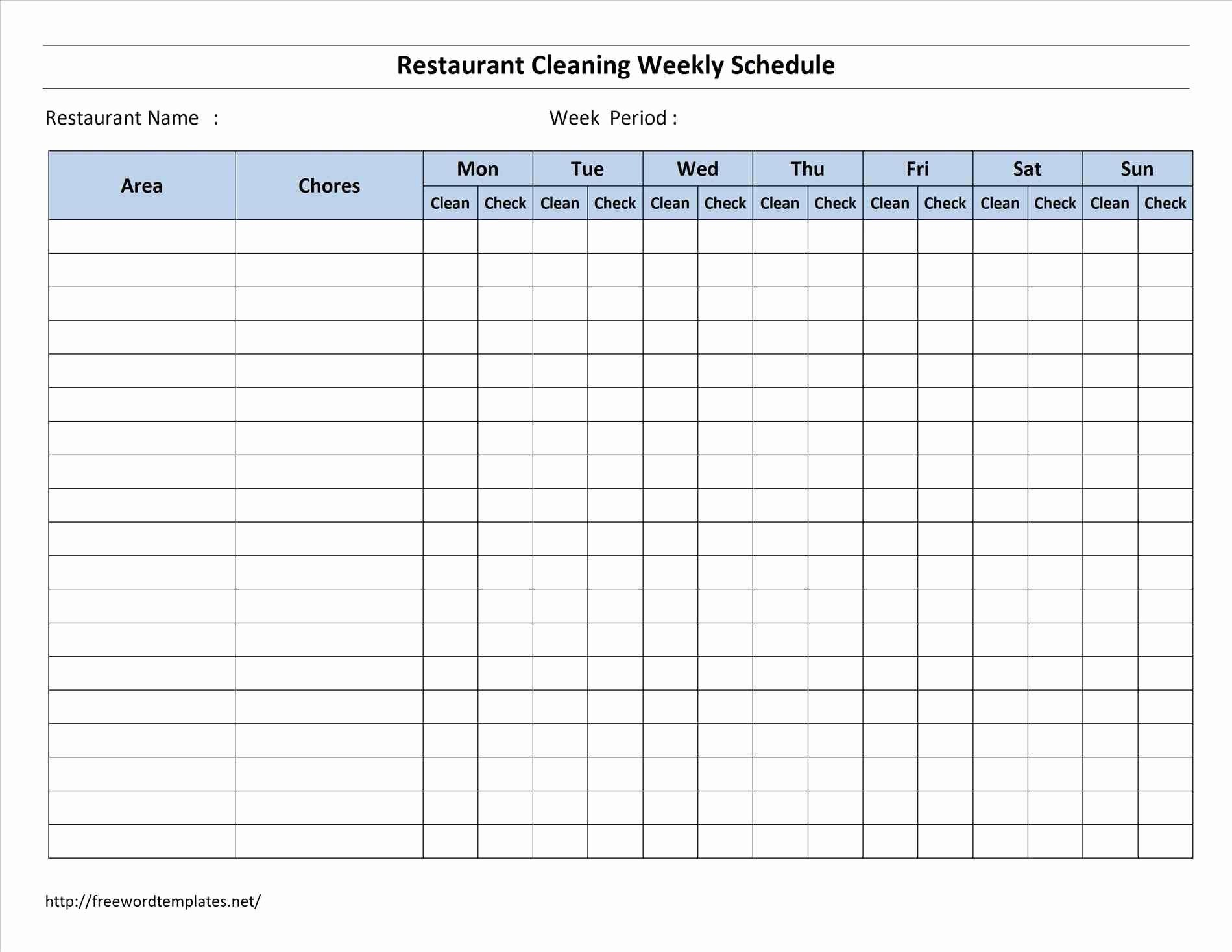 Microsoft Word Weekly Calendar Template Awesome Word Printable Blank Checklist Template Invoice Images