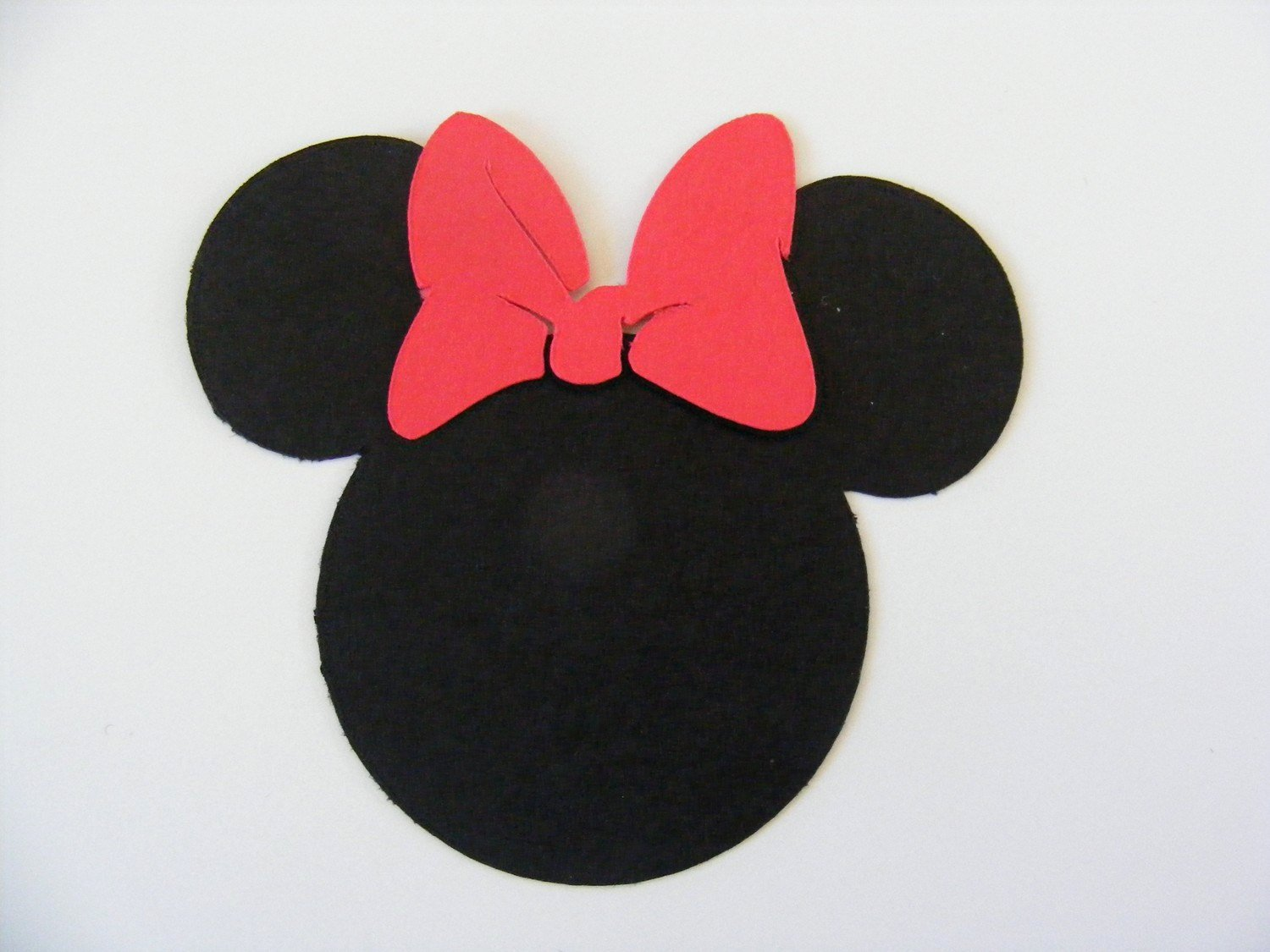 Minnie Mouse Cut Out Head Awesome 20 Minnie Mouse Head Die Cut Perfect for Scrapbooking Card