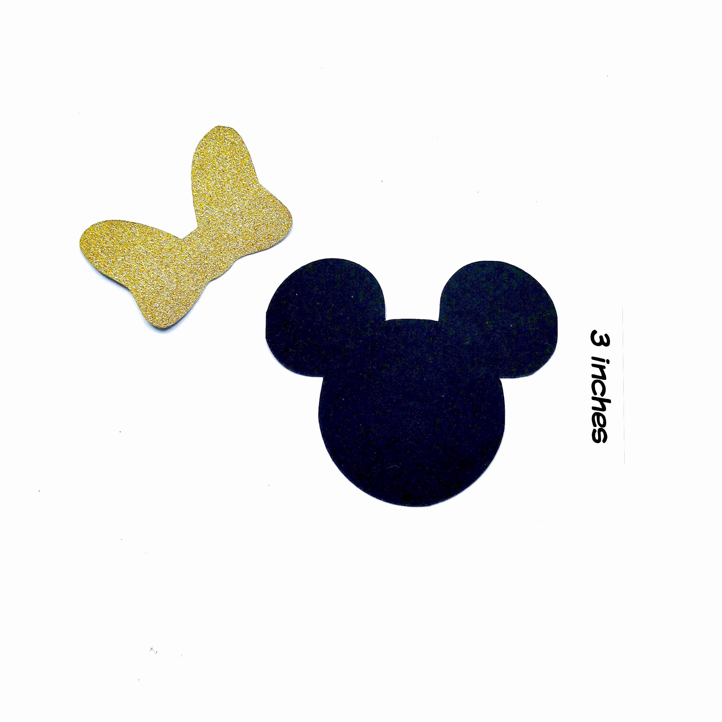 Minnie Mouse Cut Out Head Inspirational 15 3inch Minnie Mouse Die Cuts Minnie Head Cut Outs Minnie