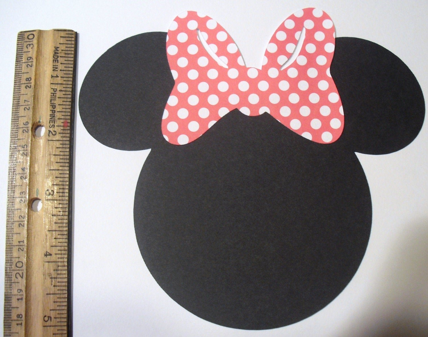 Minnie Mouse Cut Out Head Lovely Minnie Mouse Heads 5 Inches Set Of 10 Cuts Cut Outs You