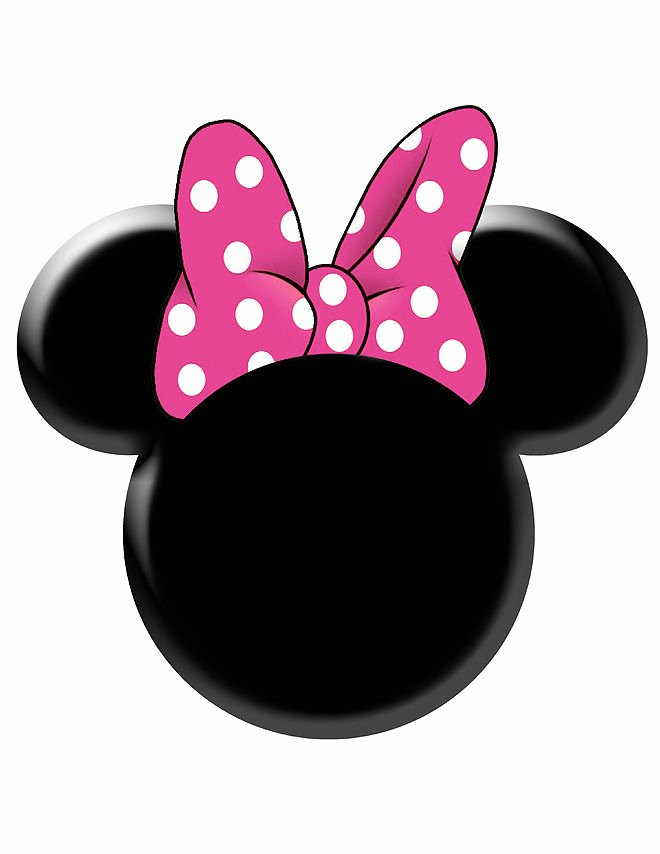 Minnie Mouse Cut Out Head New Best S Of Minnie Mouse Bow Cut Out Template Minnie