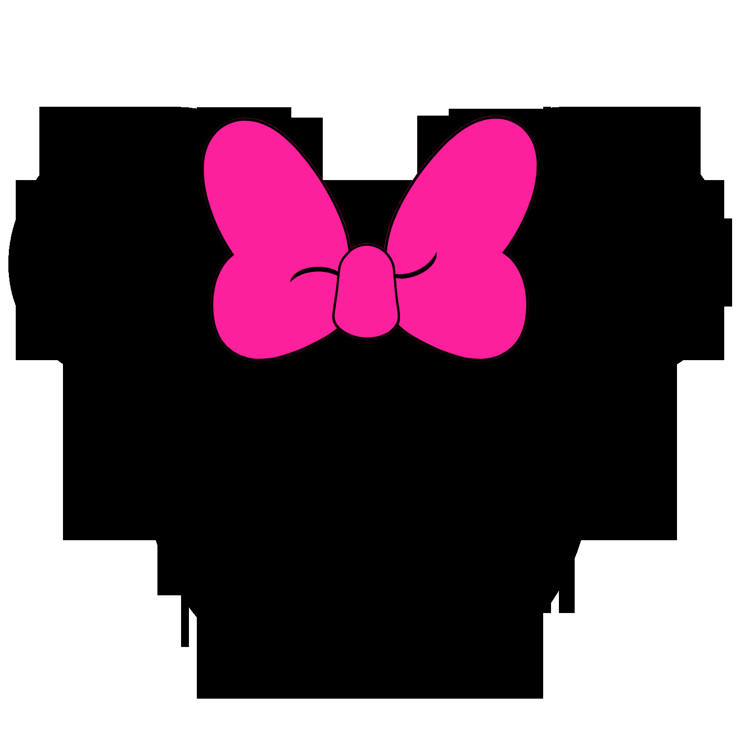 Minnie Mouse Cut Out Head New Silver Minnie Mouse Head Clipart Clipart Best Clipart Best