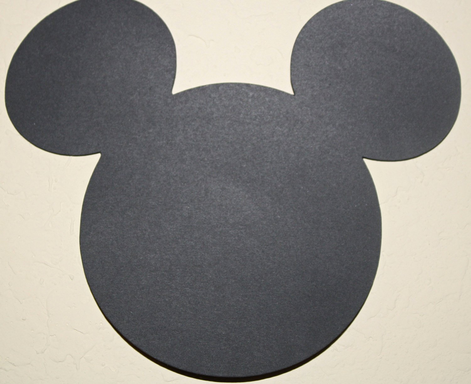 Minnie Mouse Cut Out Head Unique Mickey Mouse Head Die Cut Out 5 5 Inches Perfect for
