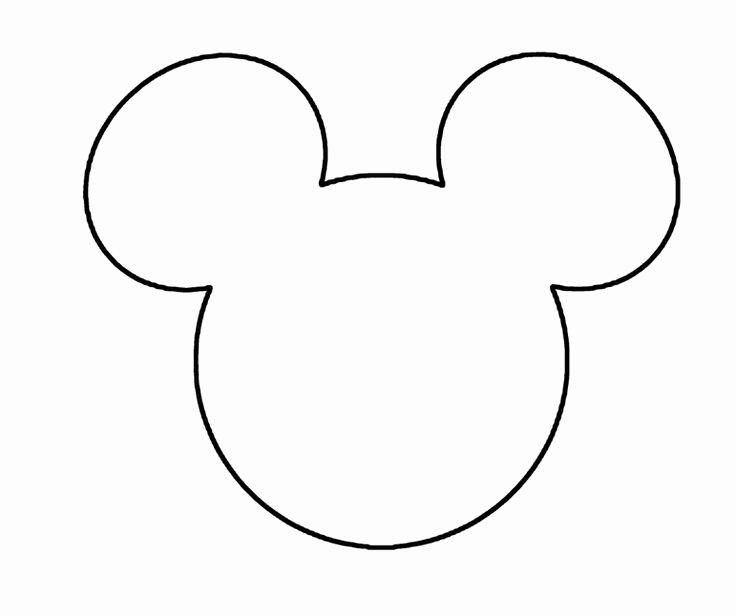 Minnie Mouse Cut Out Head Unique Minnie Mouse Black Face Cliparts