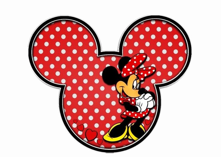 Minnie Mouse Cut Out Template Best Of Minnie Mouse Outline Head Cliparts