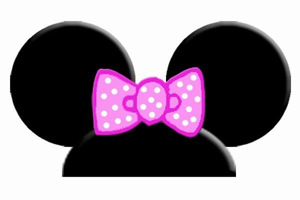 printable mickey mouse ears template