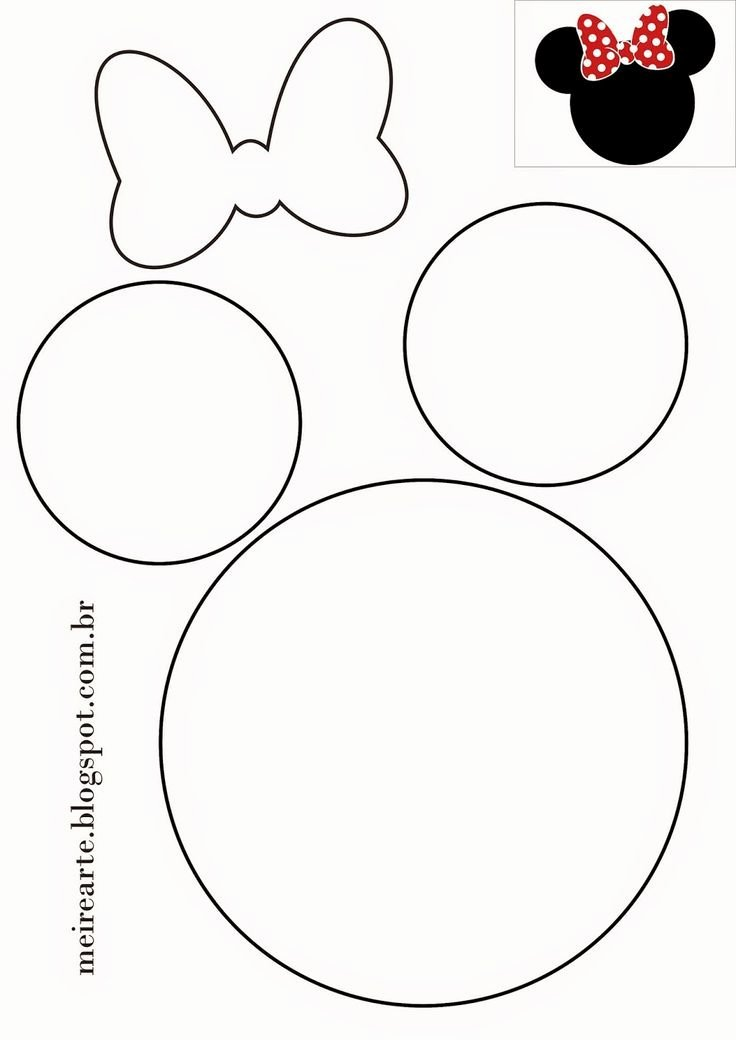 Minnie Mouse Template Pdf Elegant 25 Best Ideas About Mickey Mouse Template On Pinterest