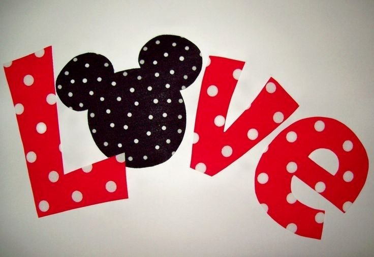 Minnie Mouse Template Pdf Inspirational Fabric Applique Pdf Template Pattern Mickey Minnie Love