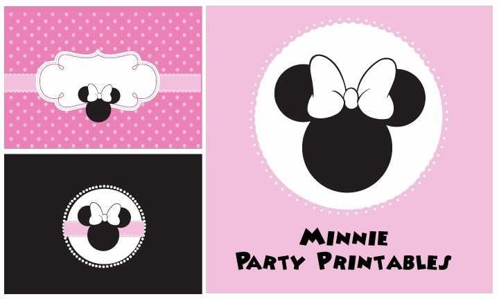 Minnie Mouse Template Pdf Inspirational Minnie Mouse Printables