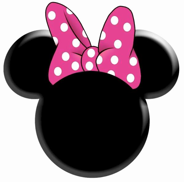 Minnie Mouse Template Pdf Luxury Minnie Mouse Head Vector – 101 Clip Art