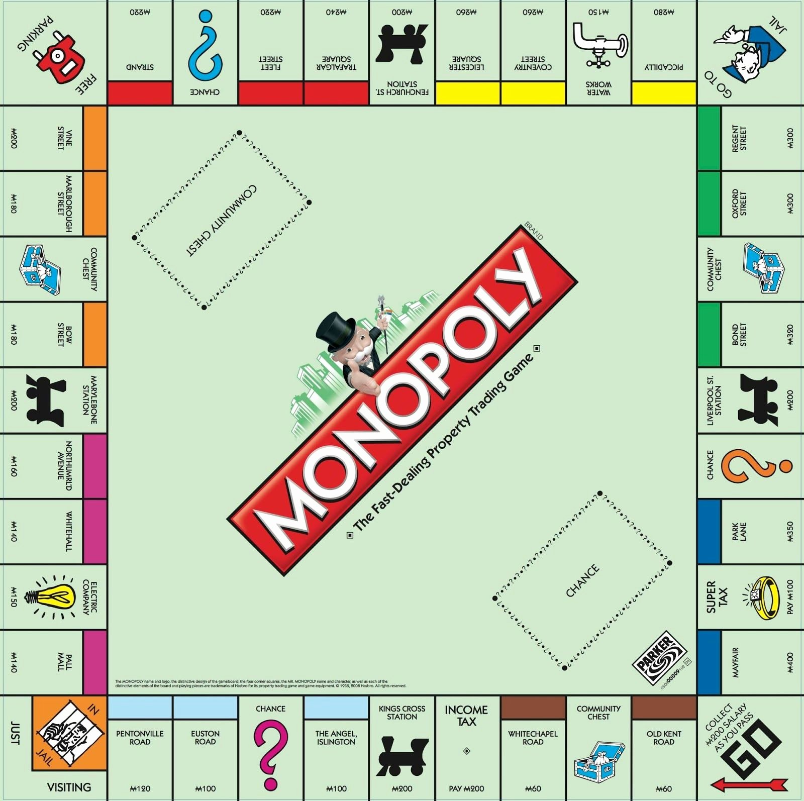 Monopoly Game Template Lovely Monopoly Box Template Creativity Productivity Diy