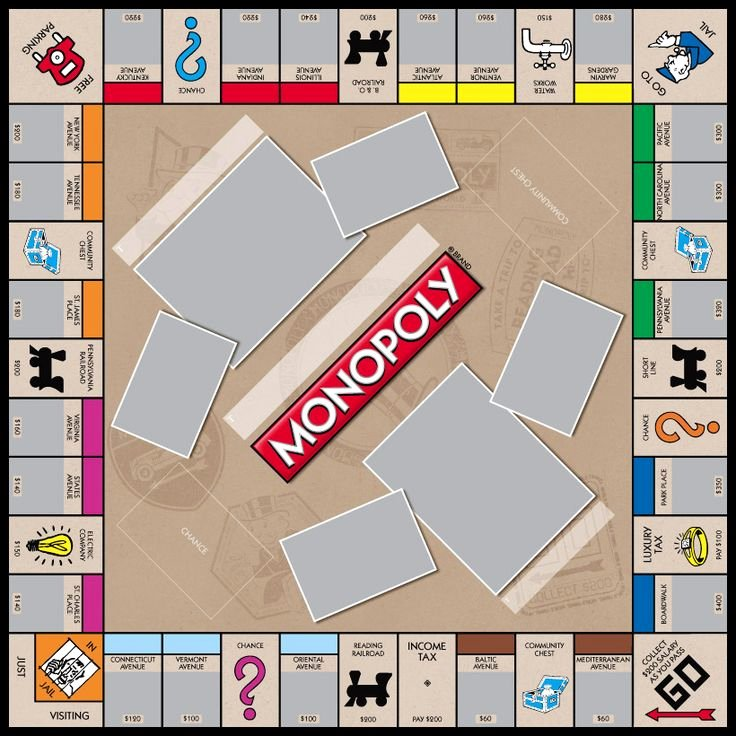Monopoly Game Template Luxury 8 Best Monopoly Templates Images On Pinterest