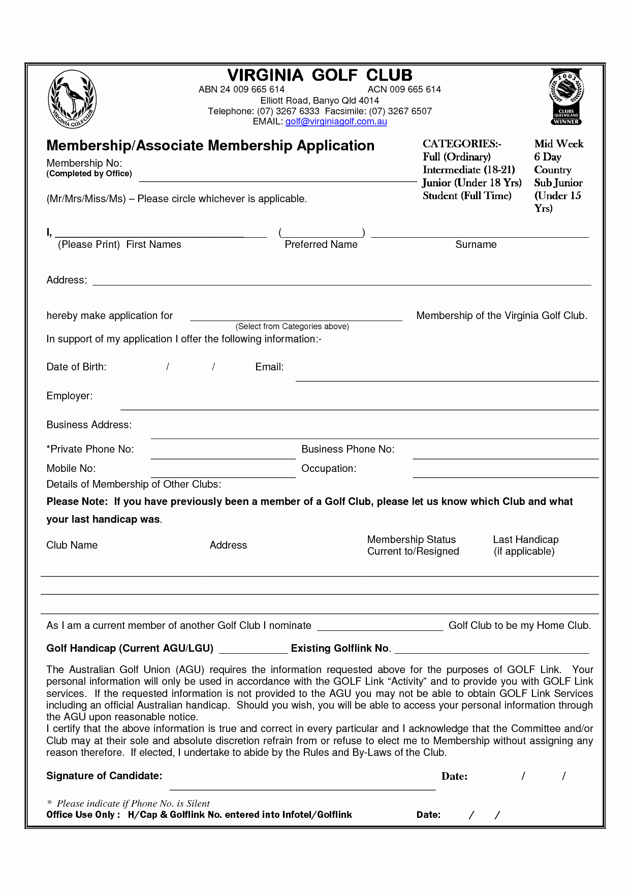29 images of motorcycle club application form template 9208